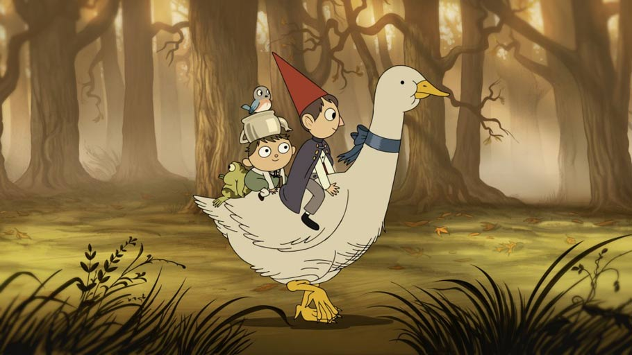 Cartoon Network 39 S 2014 39 15 Lineup Includes The Fantasy Mini Series 39 Over The Garden Wall 39