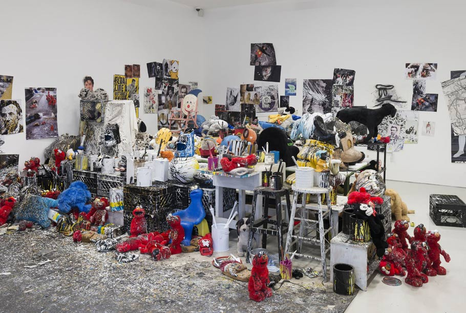 """ Joyceland in London 1981-2014,"" studio accumulation from 1981 to present day."