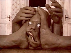 """Darkness Light Darkness"" by Jan Svankmajer."