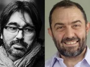 """Eric """"Bibo"""" Bergeron (l.) and Mike de Seve."""