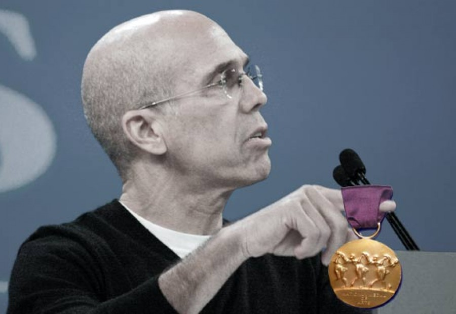 Jeffrey Katzenberg. (Photo-illustration/original photo: Shutterstock)