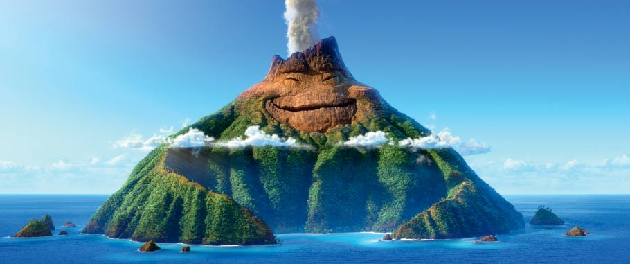 "Uku from Pixar's ""Lava."" (Click to expand.)"