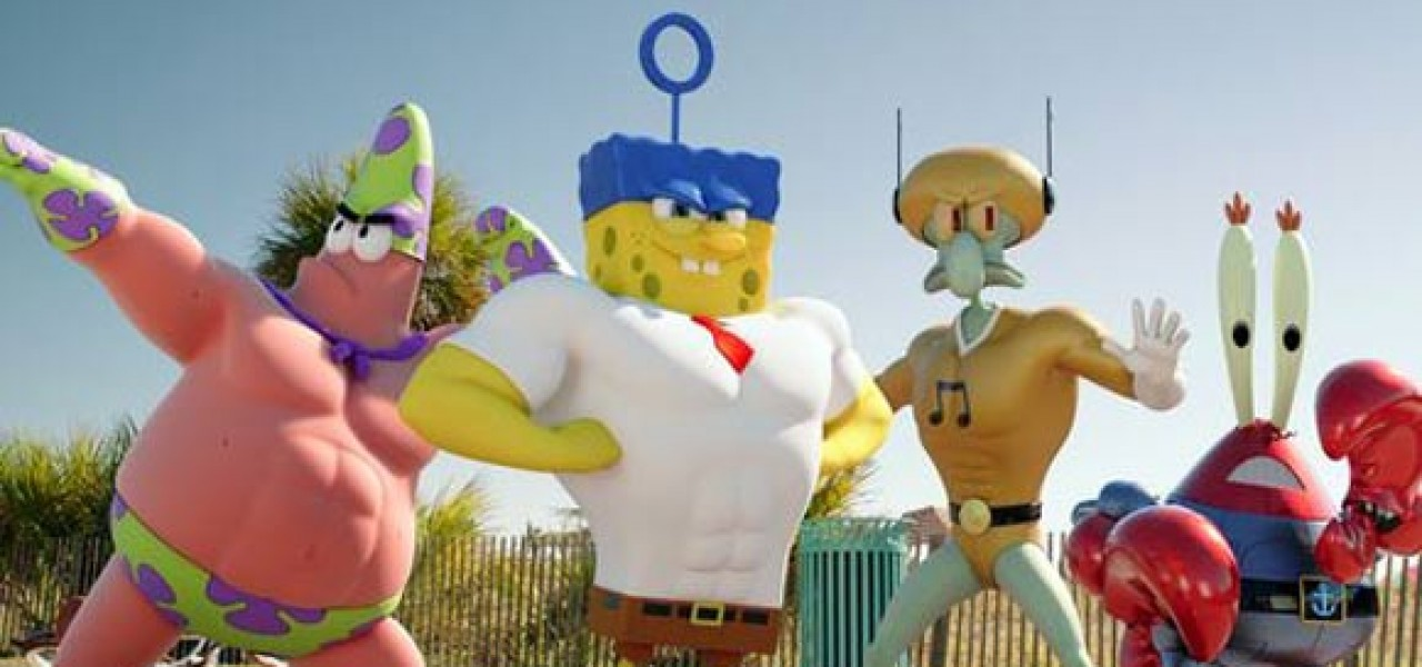 Spongebob Ausgetrocknet