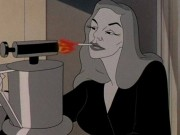 "Lauren Bacall in ""Bacall to Arms."""