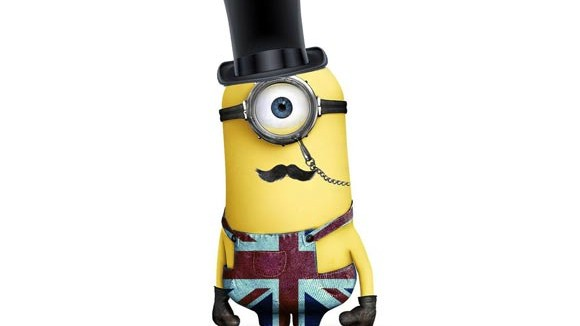 British Minion drawn by Mary Manchin.
