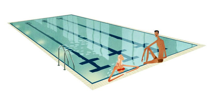Artist of the day emmanuelle walker for Cegep vieux montreal piscine