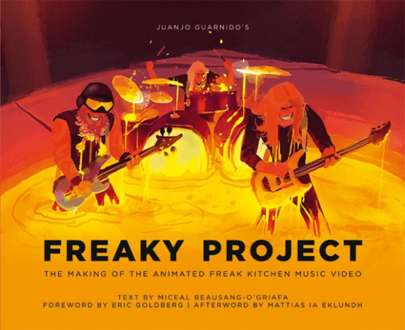 "The cover of the upcoming book ""Freaky Project."""