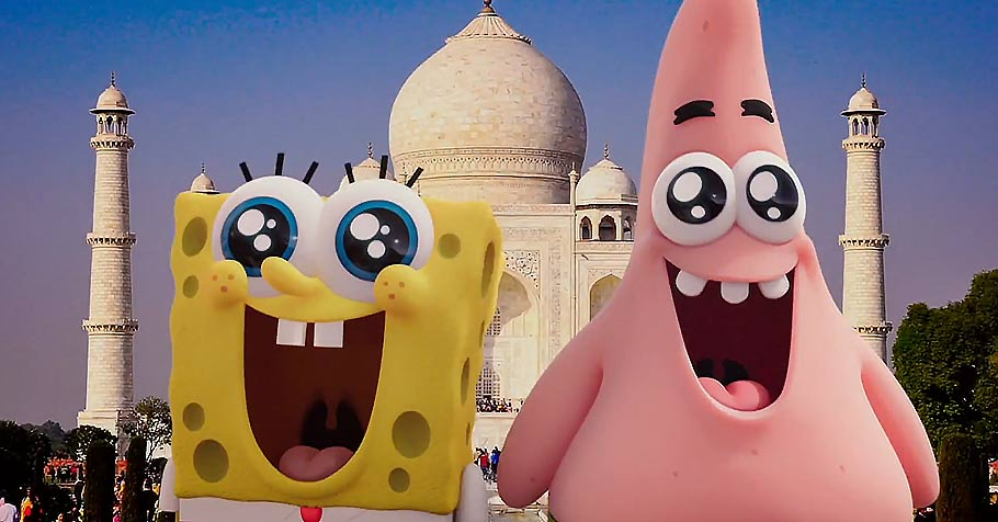 spongebob movie sponge out of water new trailer and poster