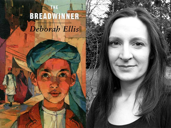 """The Breadwinner,"" based on a bestselling novel by Deborah Ellis, will be directed by Nora Twomey (right) at Cartoon Saloon."