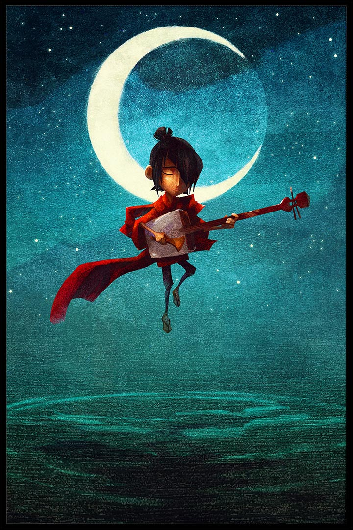 "Laika's next film ""Kubo and the Two Strings."" (Click to enlarge.)"