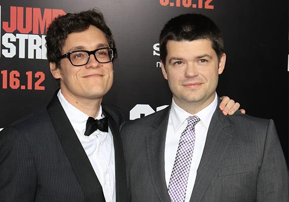 Phil Lord (left) and Chris Miller. (Photo: Phil Stafford /Shutterstock)