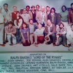 """""""Lord of the Rings"""" animation crew, 1978. Click to enlarge image. (Photo via African-American Animators - Past & Present Facebook group.)"""