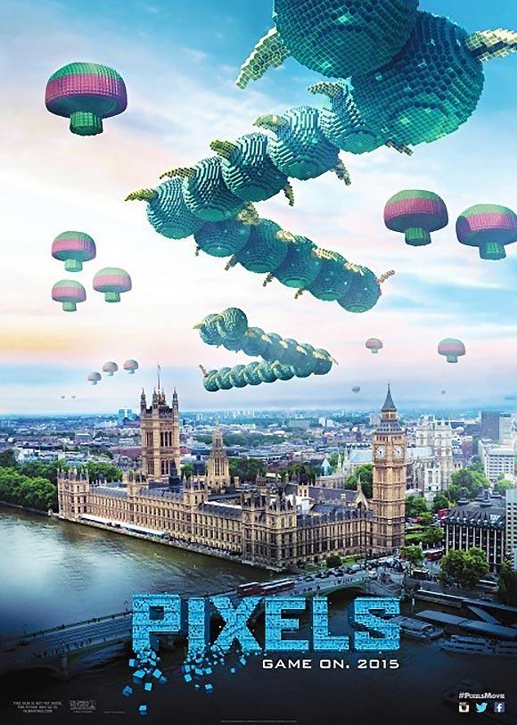 Pixels Poster B C