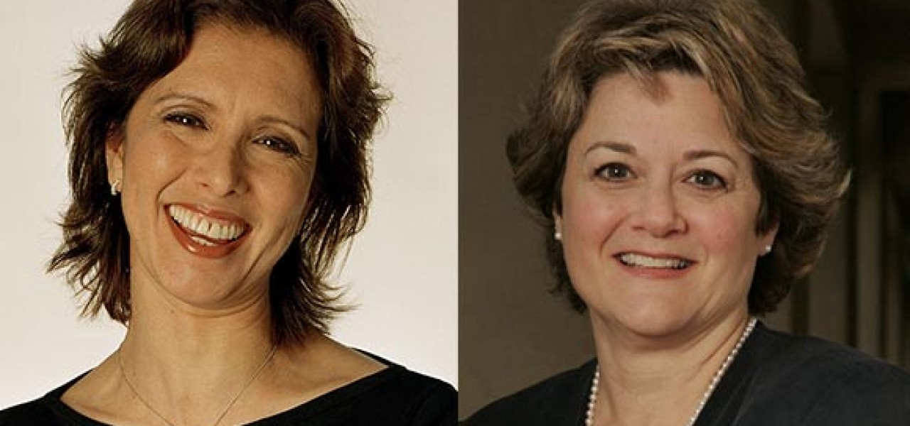 Mireille Soria (left) and Bonnie Arnold are the new presidents of DreamWorks Animation.