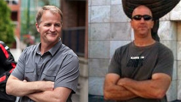 "Chris Bailey (left) and Mark Koetsier will co-direct ""Blazing Samurai."""