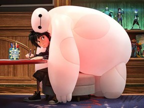 "Disney's ""BIg Hero 6"" dominated the VES Awards tonight."
