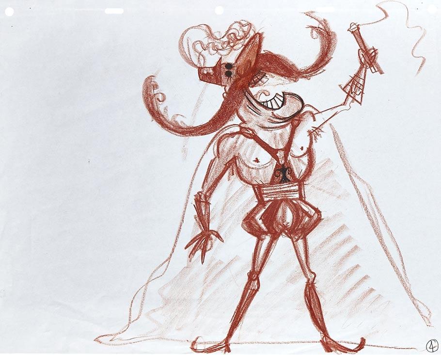 Other Bobinsky concept art. Artist: Stef Choi.