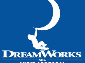 (DreamWorks Logo editorial illustration: boy silhouette via Shutterstock.com.)