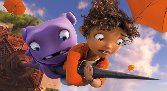 "The upcoming ""Home"" will be DreamWorks Animation's sole theatrical release in 2015."