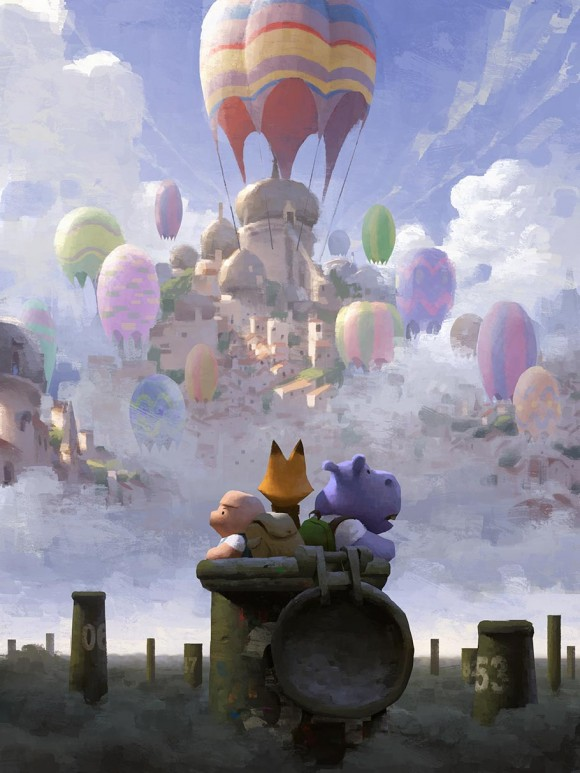 "The creators of ""The Dam Keeper"" plan to expand the short's universe with a graphic novel series and a feature film. (Click to enlarge.)"