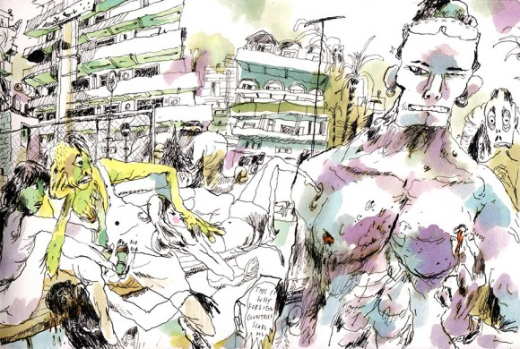 Artist of the Day: Sam Vanallemeersch