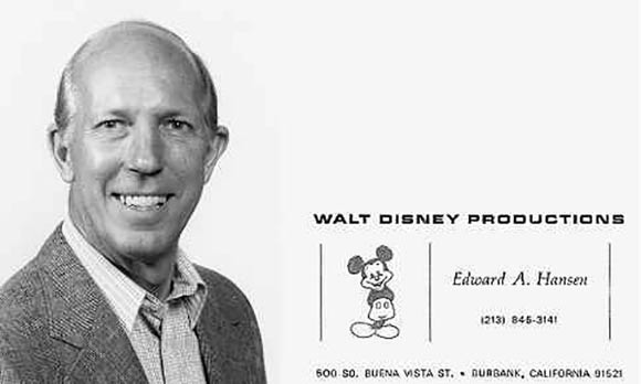 Ed Hansen, the man who laid off Steve Hulett at Disney.