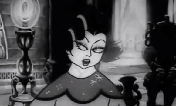 "China produced its first animated feature, ""Princess Iron Fan,"" in 1941."