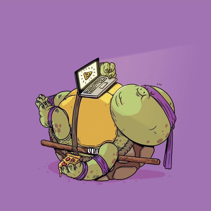 Donatello (Click to enlarge.)