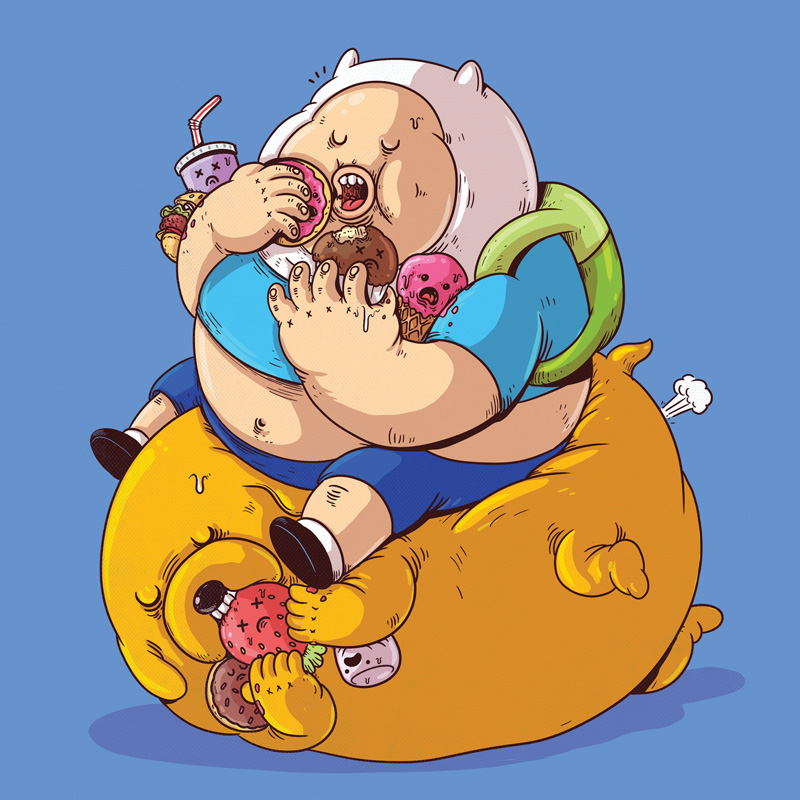 Finn and Jake (Click to enlarge.)