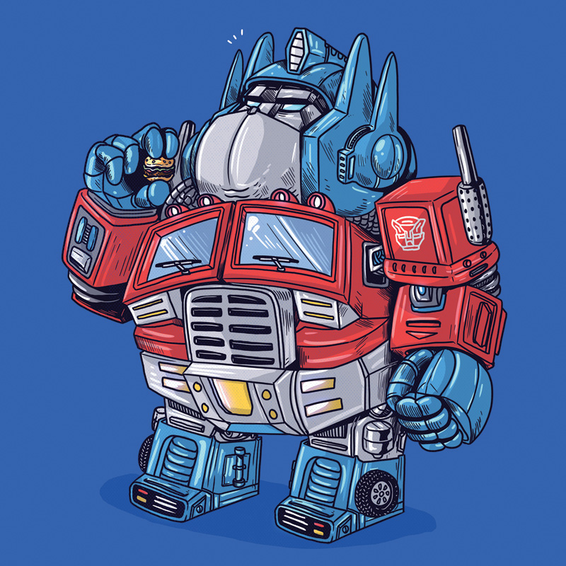 Optimus Prime (Click to enlarge.)