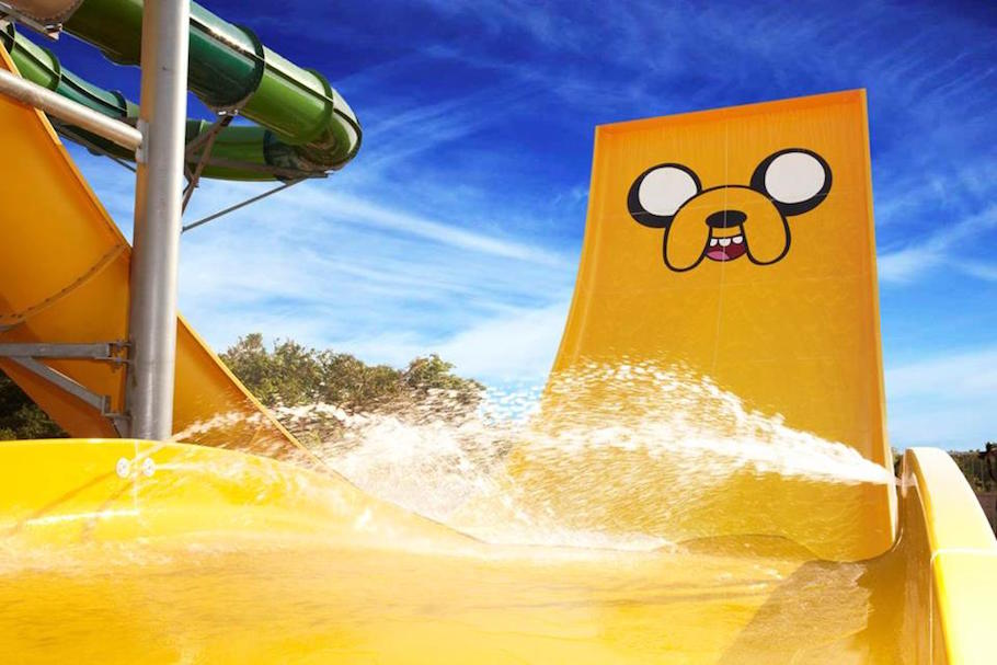 Check Out the World's First Cartoon Network Waterpark