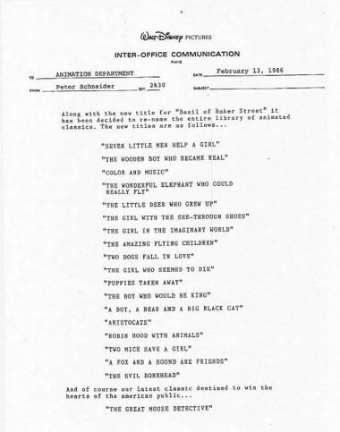 Click to enlarge a copy of Ed Gombert's infamous memo.
