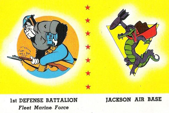 A couple examples of the hundreds of insignia designs that the Disney studio created for various military units during WWII.