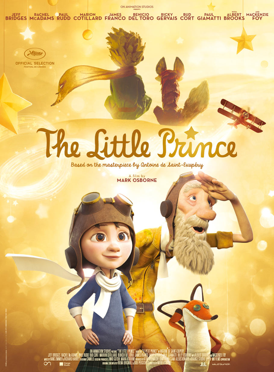 """The Little Prince"" international poster. Click to enlarge."