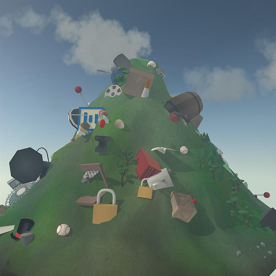 Mountain. 2014. USA. Created by David OReilly.