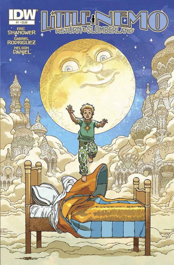 Front cover of issue #1 of 'Little Nemo: Return to Slumberland.' Click to enlarge.