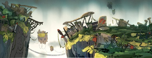 """Ellie the Ace"" concept art by Pedro Vergani. Click to enlarge.  (©Cartoon Saloon)"