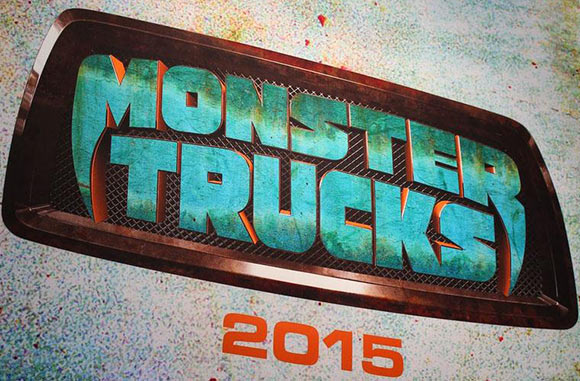 """""""Monster Trucks"""" logo."""