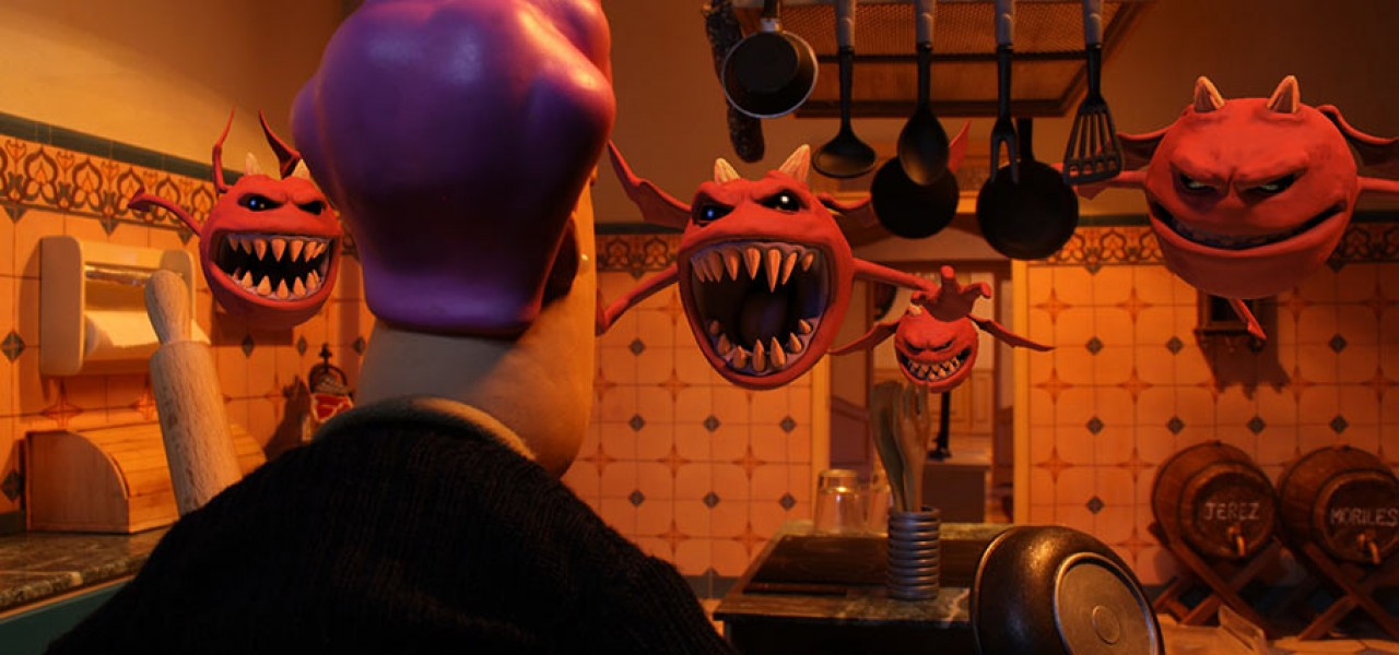 """""""Possessed,"""" a Spanish feature directed by Sam, will screen in competition at Annecy next month. (Click to enlarge.)"""