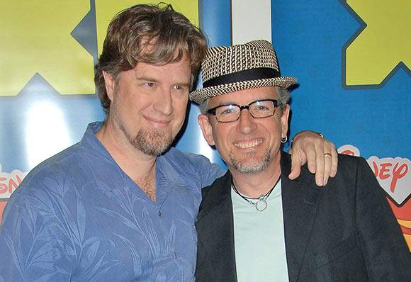 """Dan Povenmire and Jeff """"Swampy""""Marsh. (Photo:  S. Bukley/Shutterstock.com)"""