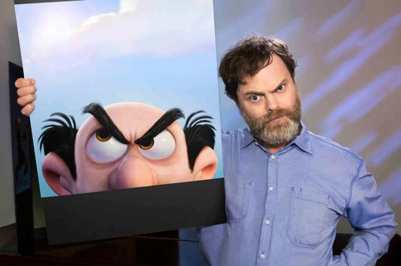 Rainn Wilson as Gargamel.