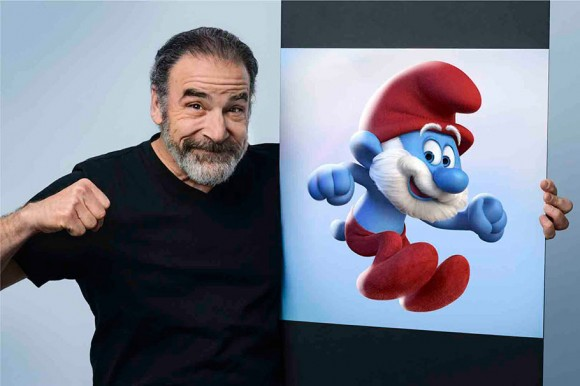 Mandy Patinkin as Papa Smurf.