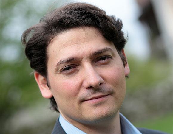 Mickaël Marin, head of economic development and Mifa. (© G. Piel/CITIA)