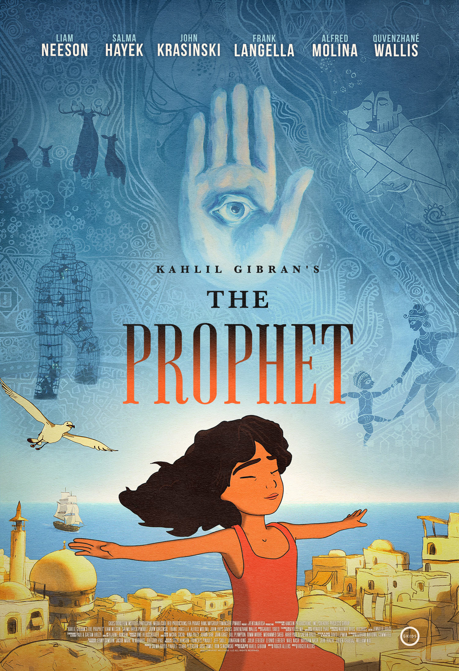 Exclusive Movie Poster Debut Kahlil Gibrans The Prophet