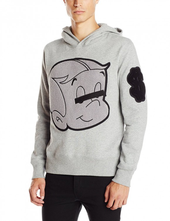Put a black bar over your own eyes if you paid $175 for this hoodie designed by Ovadia and Sons. (Click to enlarge.)