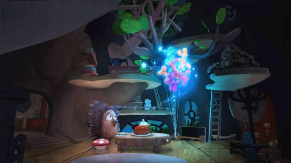 """Henry"" is the latest immersive animated short produced for the Oculus platform. (Click to enlarge.)"