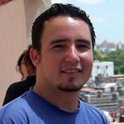 Cuban animator Jerzy Perez.