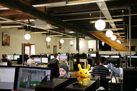 Creators selected for Story Lab will have the opportunity to develop their idea at Triggerfish's studio (pictured above, click to enlarge).