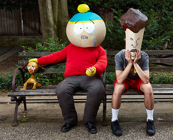 Viacom hasn't been able to come up with a new Ren, Cartman, or Butt-head in the last 20 years.  (Photo: Tina Schula/©Bloomberg Businessweek.)
