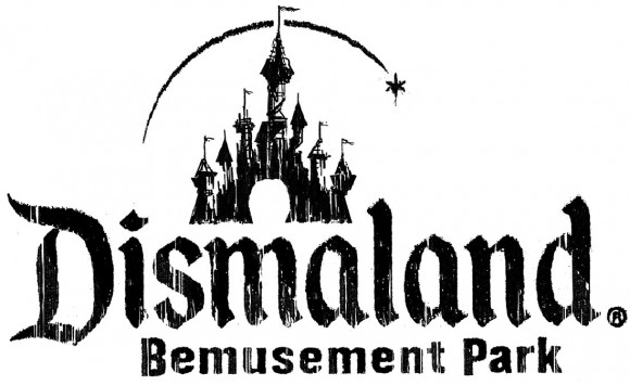 Dismaland logo. (Click to enlarge.)